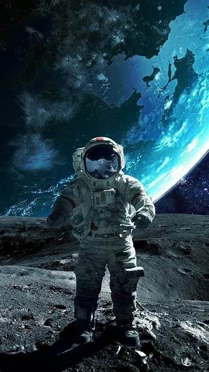 Space Astronaut Wallpapers Iphone Moon Phone Background