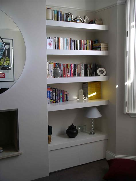 Shelves For Kitchen Cupboards by Floating Shelf Alcove Cupboard By Henderson