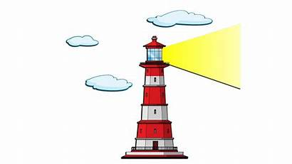 Lighthouse Clipart Cartoon Lighthouses Clip Christmas Cliparts