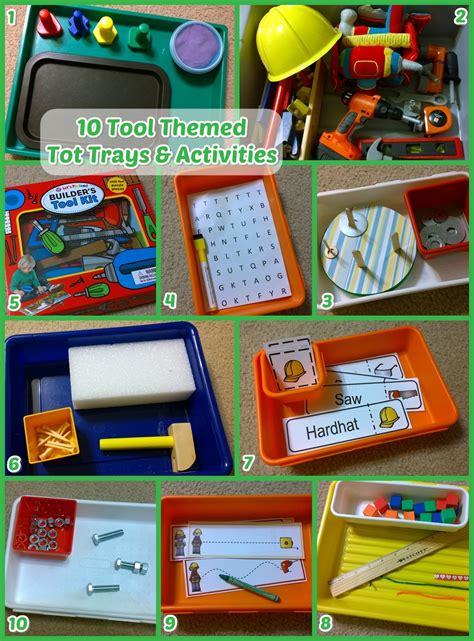 10 tools tot trays amp activities 681 | 10 tools tot trays activities