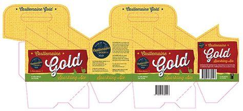 pack beer bottle carrier template die cut lines