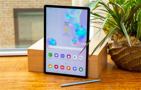 samsung galaxy tab s6 review and benchmarks