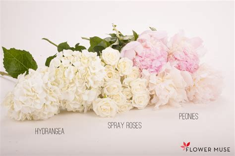 White And Blush Pink Centerpiece  Flower Muse Blog