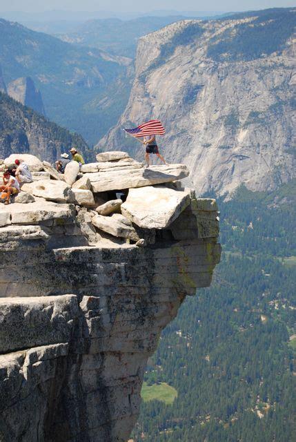 Hiking Upper Yosemite Falls Trail California