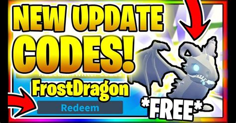You can use these to get a bunch of free cash! Brand New Frost Dragon In Adopt Me Spending All My Robux On New Update Adopt Me Frost Dragon ...