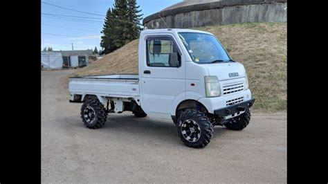 Suzuki Mini Trucks by Custom Built Suzuki Carry Mini Truck