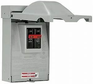 60 Amp Double Pole Ac Type Nema 3r