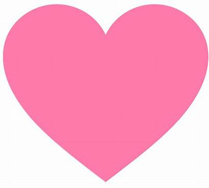 Hearts Heart Valentine Pink Clip Valentines Clipart