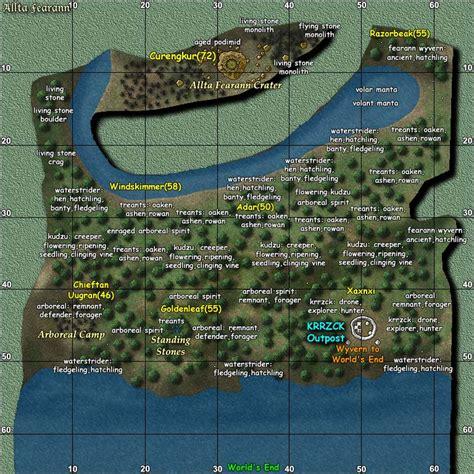 dungeon si鑒e le mappe di daoc
