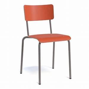 Chaise Bois Vintage : chaise vintage en m tal et bois coll ge 4 pieds tables chaises et tabourets ~ Teatrodelosmanantiales.com Idées de Décoration