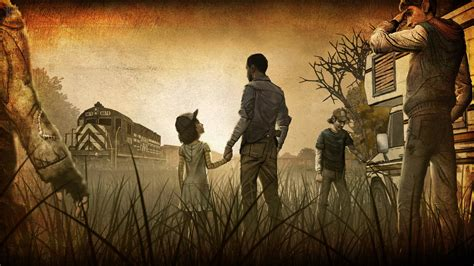walking dead game wallpaper  images