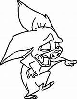Anastasia Bat Coloring Disney Wecoloringpage Laugh sketch template
