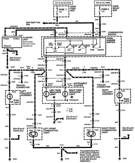 electrical wiring exterior lights wiring schematic isuzu