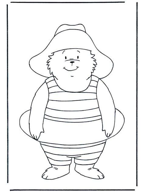 paddington bear coloring pages  printable paddington