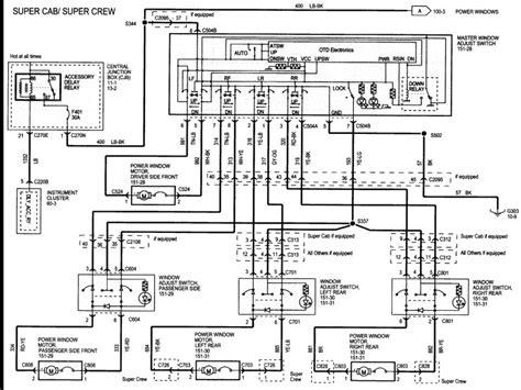 2003 ford explorer power window wiring diagram wiring forums