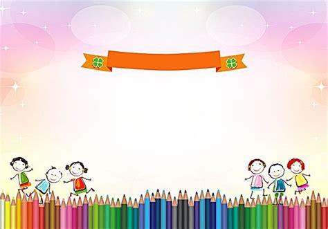 kindergarten signature wall wallpaper powerpoint