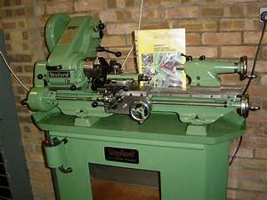 Myford Super 7 power cross-feed lathe