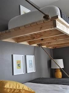 Hochbett 180x200 Erwachsene : hochbett selber bauen bettgestell 180x200 elevated bed idea 39 s in 2019 white bunk beds loft ~ A.2002-acura-tl-radio.info Haus und Dekorationen