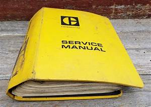 Available On Ebay Huge Caterpillar Service Manual 988
