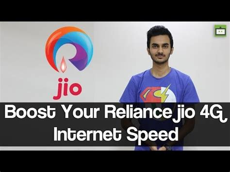 reliance jio 4g 5 tips to boost your 4g speed gizbot