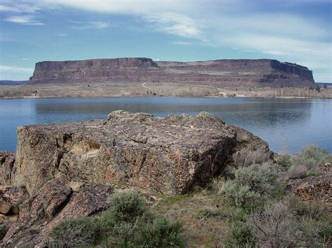 Steamboat Rock by Steamboat Rock State Park