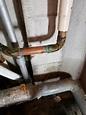 給湯管の漏水   アトリエ花みずき