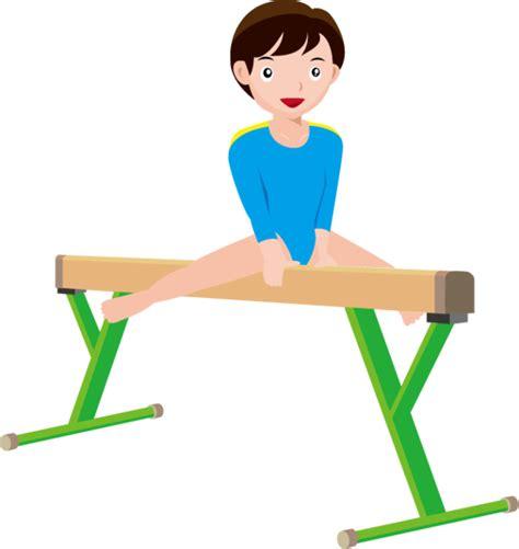 Free gymnastics clipart - ClipartAndScrap