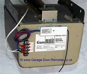 Remote Control System Upgrade Kit For Garamatic Gd100