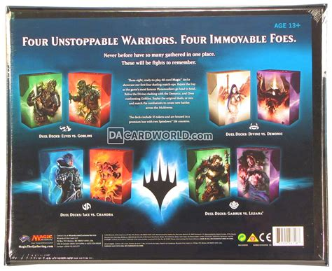 Tcgplayer Duel Decks Anthology by Magic The Gathering Duel Decks Anthology Box Da Card World