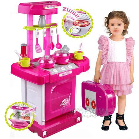 Mainan Anak Kitchen Set Koper  Mainan Masak Masakan