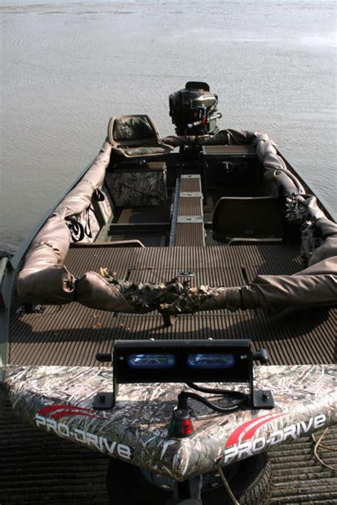 Duck Boat Exhaust by Pro Drive Mud Motors Impremedia Net