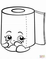 Toilet Paper Roll Clipart Coloring Shopkin Leafy Sweat Pages Toliet Shopkins Printable Cartoon Toilets Supercoloring Drawings Tegninger Clipartmag Template Drawing sketch template