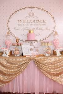 kara s party ideas pink gold royal princess party planning