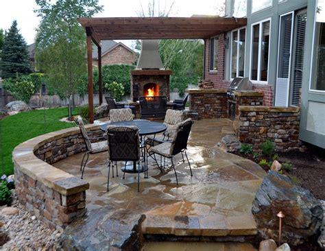 Outdoor Stone Fireplace Ideas Fireplace Designs