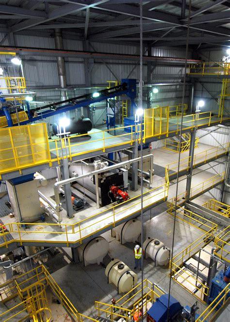 frac sand resin coating facility construction mouat
