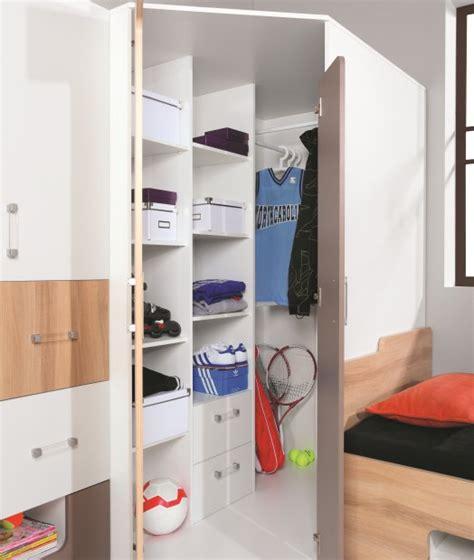 armoire angle chambre armoire d 39 angle puzzle armoire chambre adolescents