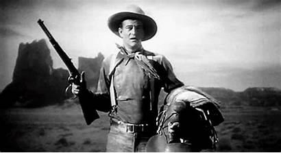 Action Wayne Lever John Rifle Western Stagecoach