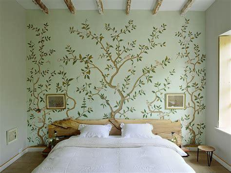 floral wallpaper  mural ideas