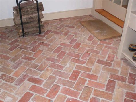 brick tile flooring for your home