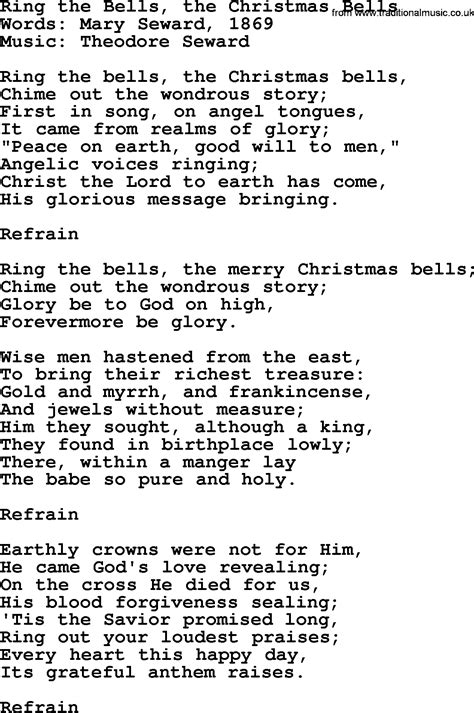 christmas powerpoints song ring the bells the christmas