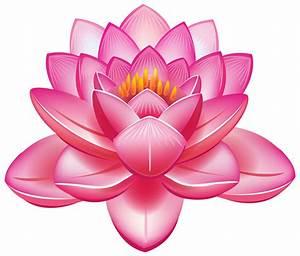 CLIPART FLOWERS | Lotus Flower PNG Clipart - Best WEB ...