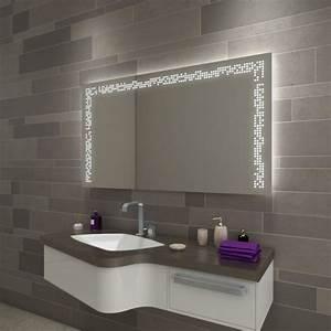 Lampe Für Badezimmerspiegel : f114l3 badezimmerspiegel beleuchtet online kaufen ~ Orissabook.com Haus und Dekorationen