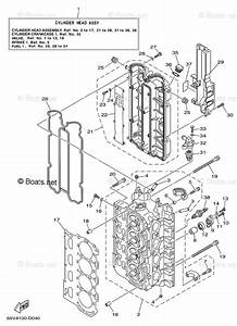 Yamaha Outboard Parts By Year 2005 Oem Parts Diagram For