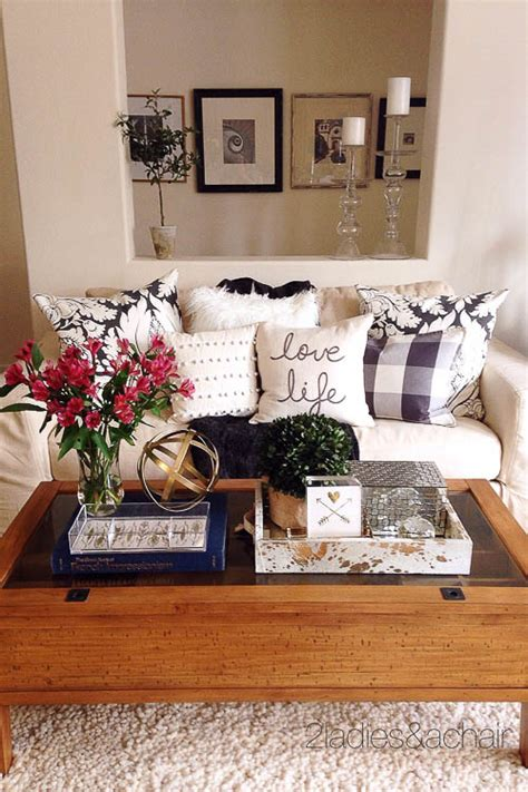 It's the focal point of your living room, and yet it always dissolves into a mess. How to Style a Coffee Table - Coffee Table Styling - A Blissful Nest