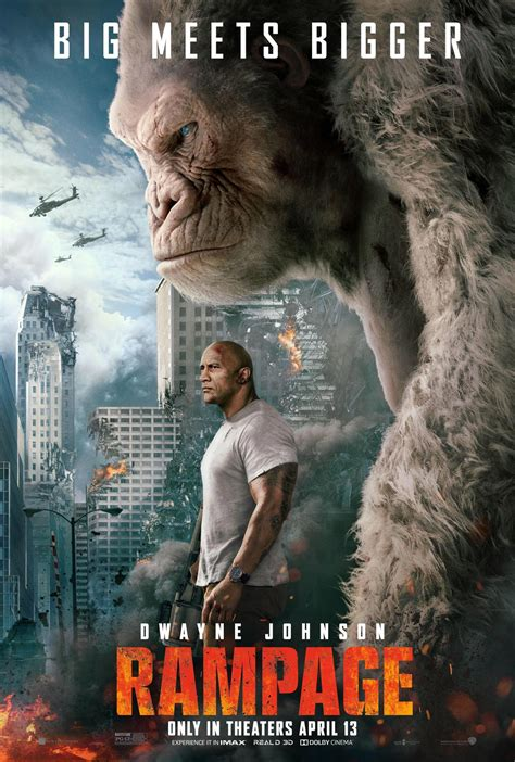 Rampage (2018) Poster #1 - Trailer Addict