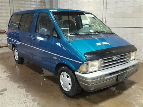 Ford Aerostar For Sale by 1993 Ford Aerostar For Sale At Copart Fridley Mn Lot