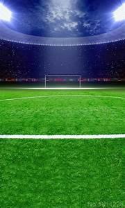 3x5FT Night Green Lawn Football Soccer Field Goal Audience ...