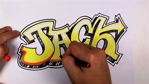 How to Draw Graffiti Letters Jack in Graffiti Lettering ...