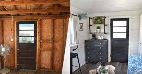 Shed To Cottage Transformation Time Lapse Photos Span 5