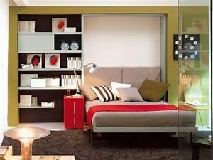Lit Petit Espace : petits espaces comment dormir dans un studio ~ Premium-room.com Idées de Décoration